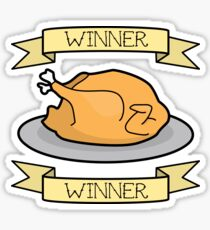 Winner, Winner, Chicken Dinner! Sticker