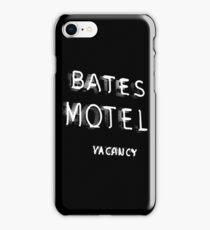 Psycho - Bates Motel Sign iPhone Case/Skin