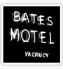 Psycho - Bates Motel Sign Sticker