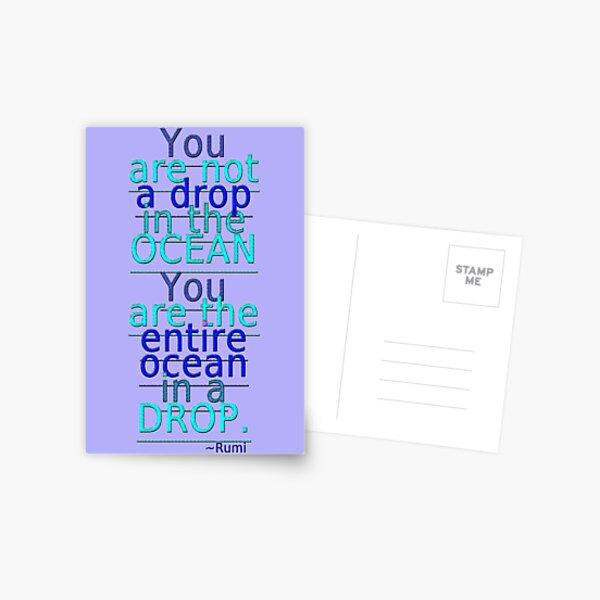 ~ the entire ocean ~ ~ ~ Postcard