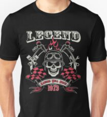 Legends Are Born In 1973 - 44th Birthday Unisex T-Shirt