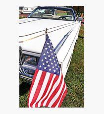 Beautiful American car  10  (c)(t) by Olao-Olavia / Okaio Créations with fz 1000  2014 Photographic Print