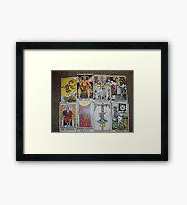 Bad Tarot Framed Print