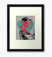 Dietrich Heart #5 Framed Print