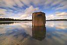 Reflections - Bittern Reservoir by Jim Worrall
