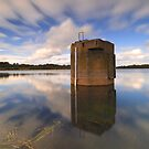 Reflections - Bittern Reservoir by Jim Worrall