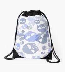 Cute Skull Pattern 2 Drawstring Bag