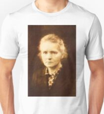 Marie Curie by Mary Bassett Unisex T-Shirt