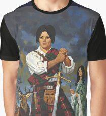 In a Highland Glen Graphic T-Shirt