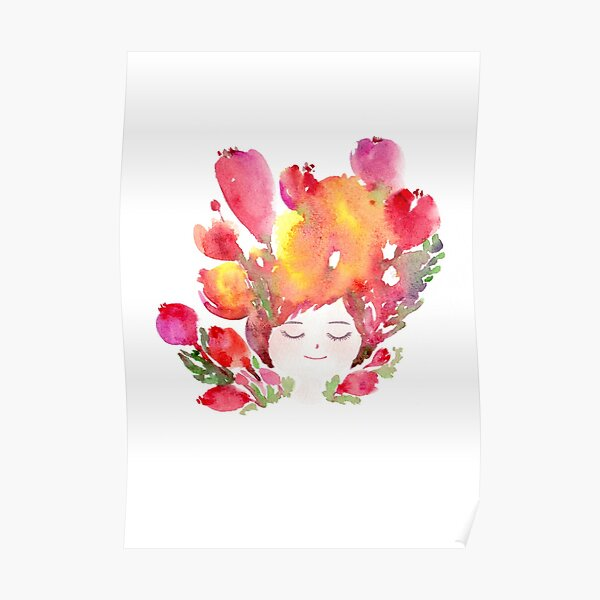 Dreaming about Flowers Poster