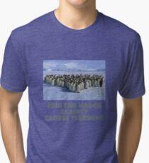 cool Penguin designs Tri-blend T-Shirt