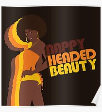 """Nappy Headed Beauty"" Poster"
