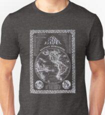 Western Hemisphere Map Print Unisex T-Shirt