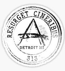 Detroit Passport Stamp Sticker