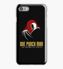 One Punch Man The Animated Series iPhone Case/Skin
