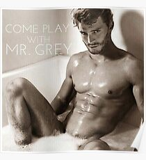 come play with mr. grey jamie dornan Poster