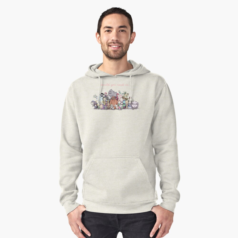 Should You Need Us (Super Extended) Pullover Hoodie Front