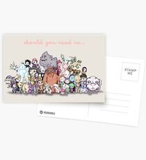 Should You Need Us (Super Extended) Postcards