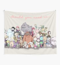 Should You Need Us (Super Extended) Wall Tapestry