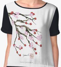 Sakura Blossom 10 from Tony Fernandes Chiffon Top