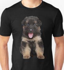 Puppy dog german shepherd Unisex T-Shirt