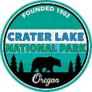 CRATER LAKE NATIONAL PARK OREGON BEAR MOUNTAINS 2 by MyHandmadeSigns