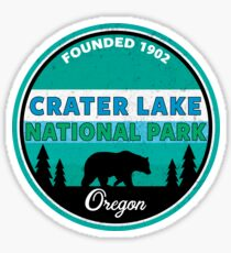 CRATER LAKE NATIONAL PARK OREGON BEAR MOUNTAINS 2 Sticker