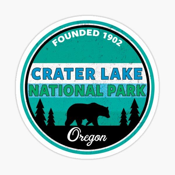 CRATER LAKE NATIONAL PARK OREGON BEAR MOUNTAINS 2 Sticker