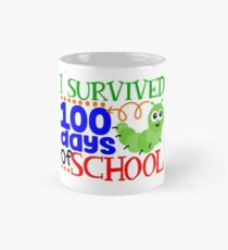 I Survived 100 Days Of School Mug