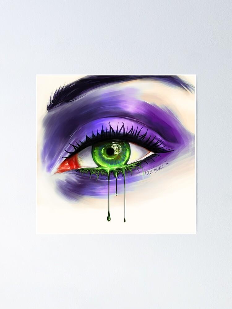 Alternate view of Green Eye Poster