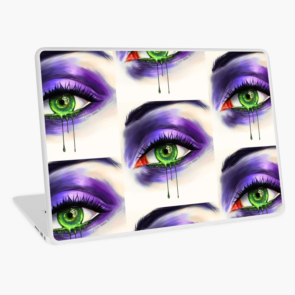 Green Eye Laptop Skin