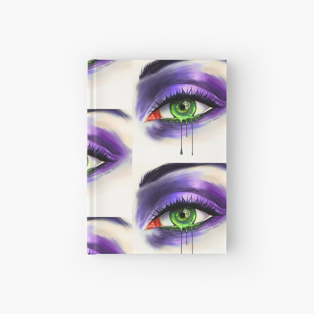 Green Eye Hardcover Journal
