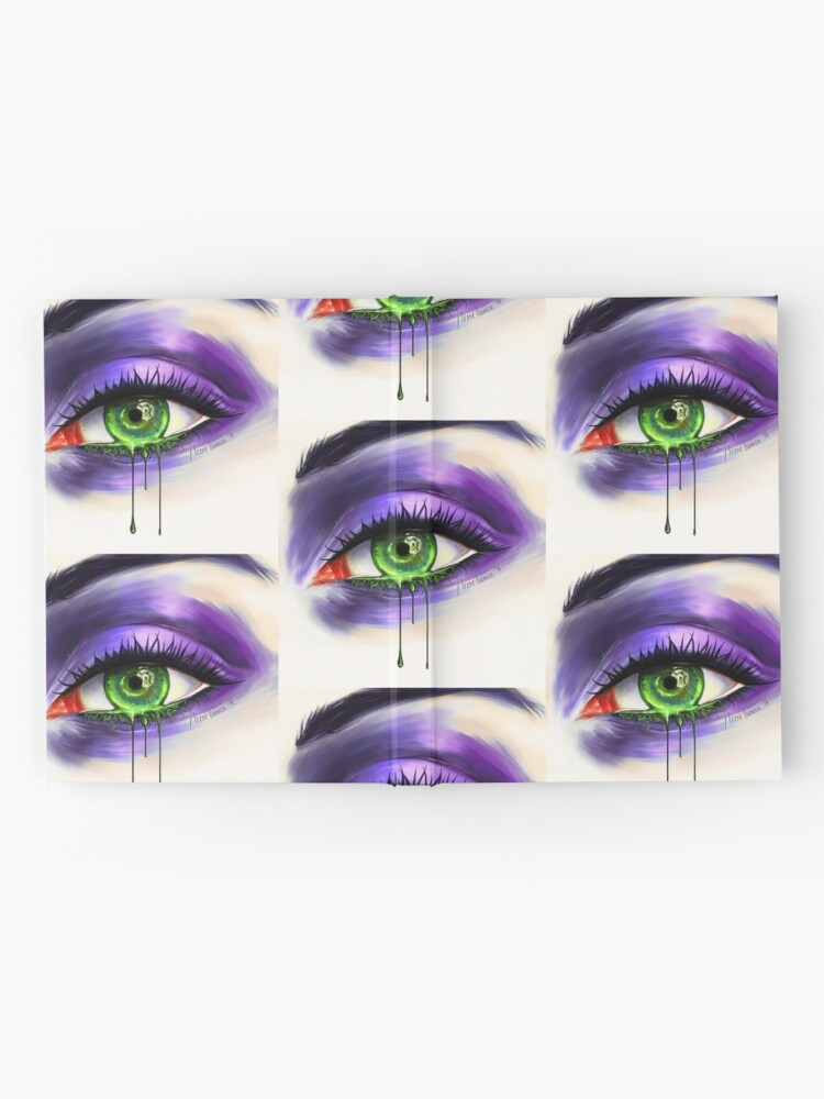 Alternate view of Green Eye Hardcover Journal