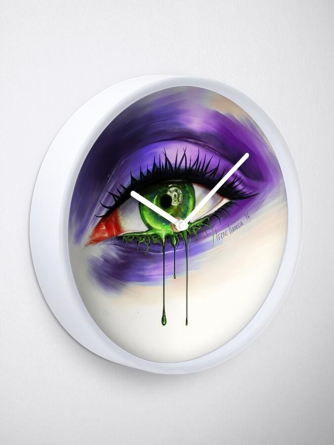 Alternate view of Green Eye Clock