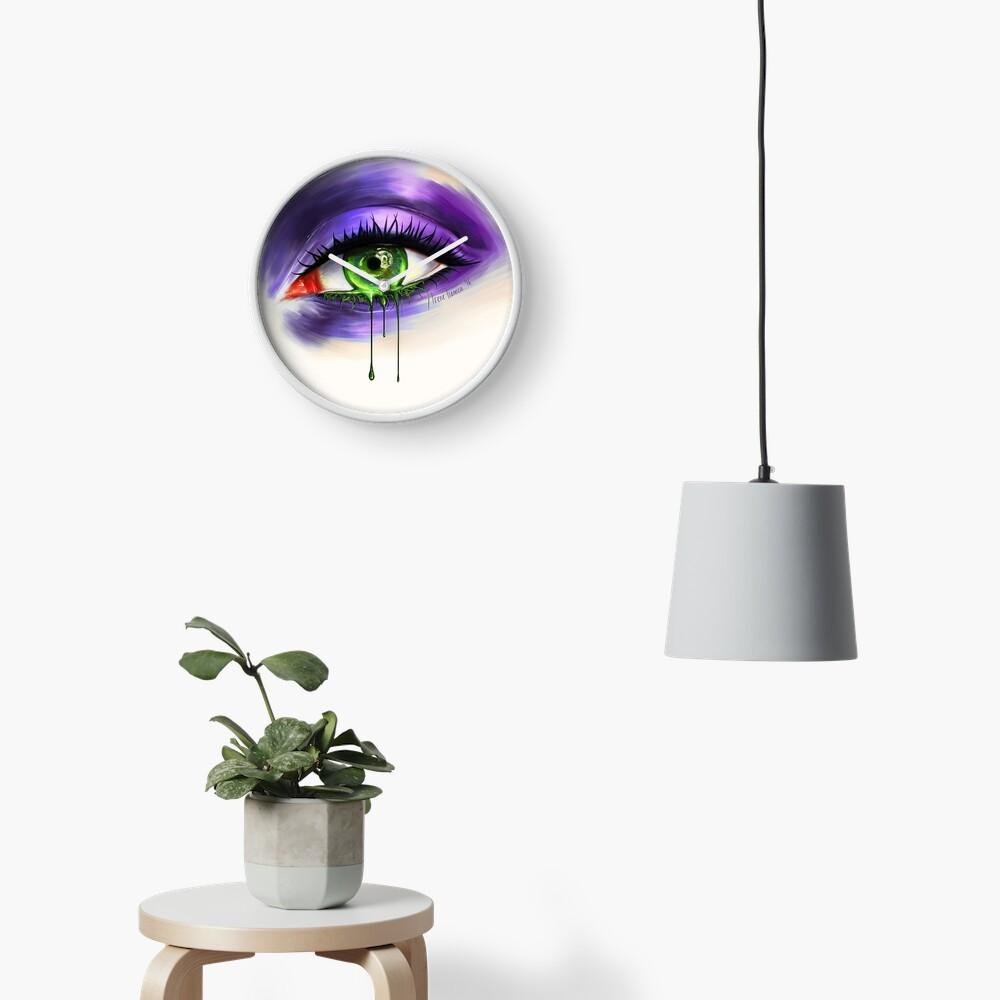 Green Eye Clock