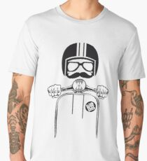 Vespa Dude Men's Premium T-Shirt