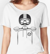 Vespa Dude Women's Relaxed Fit T-Shirt