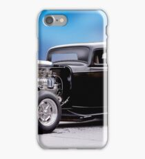 1932 Ford 'Supercharged' Coupe II iPhone Case/Skin