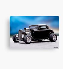 1932 Ford 'Supercharged' Coupe II Canvas Print