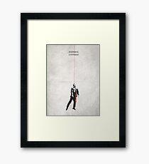 Contorno Framed Print