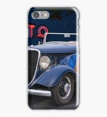 1934 Ford 'Auto Repair' Roadster iPhone Case/Skin