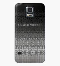 Funda/vinilo para Samsung Galaxy Black Mirror - Anonymous shape