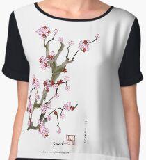Sakura Blossom 16 from Tony Fernandes Chiffon Top