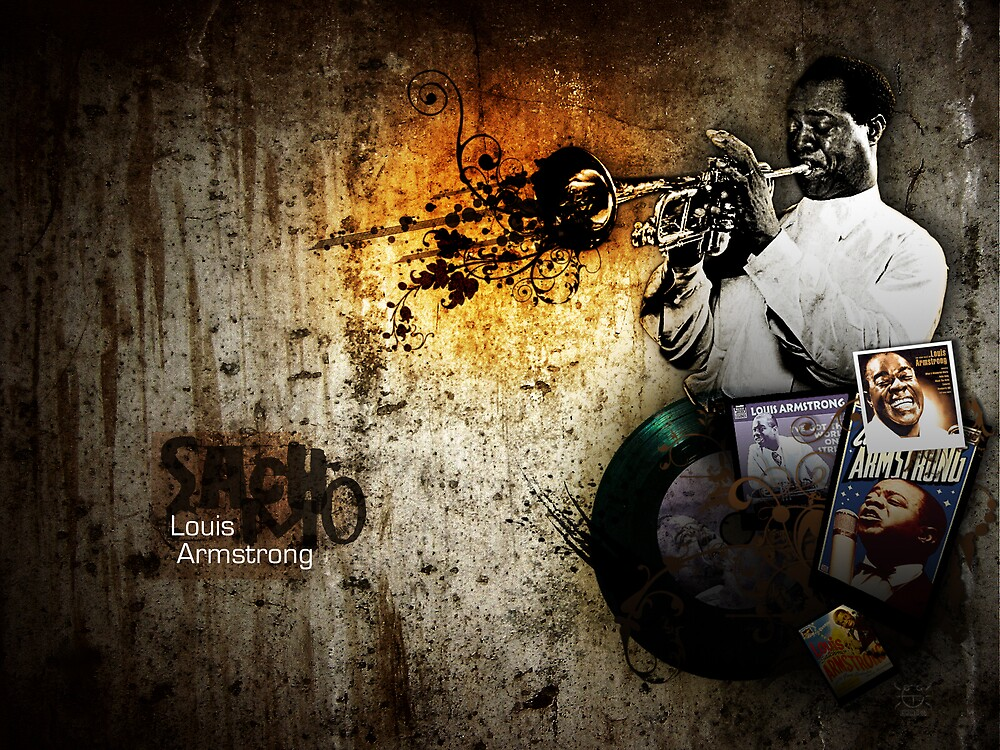 louis armstrong by 87joonbug