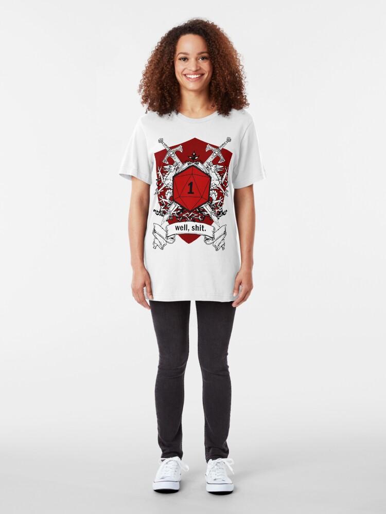 Alternative Ansicht von Wir haben alle Rollen wie diese gehabt Slim Fit T-Shirt