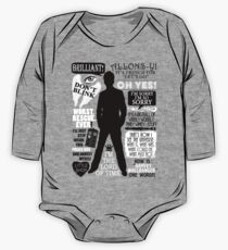 Doctor Who - 10th Doctor Quotes One Piece - Long Sleeve