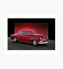 1951 Chevrolet Coupe II Art Print