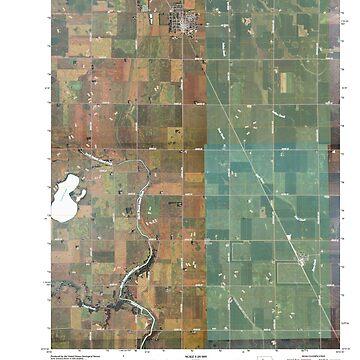 USGS TOPO Maps Iowa IA Gilmore City 20100427 TM by wetdryvac