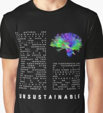 The 2nd Law: Unsustainable - Muse Graphic T-Shirt
