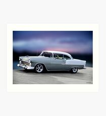 1955 Chevrolet Bel Air Two-Door Hardtop l Art Print